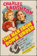"Movie Posters:Drama, The Man from Down Under (MGM, 1943). One Sheet (27"" X 41""). Drama.. ..."