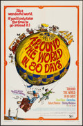 "Movie Posters:Adventure, Around the World in 80 Days (United Artists, R-1968). One Sheet(27"" X 41""), Lobby Card Set of 8 (11"" X 14"") & Pressbook (8 ...(Total: 10 Items)"
