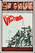 "Movie Posters:War, The Victors (Columbia, 1963). One Sheet (27"" X 41"") & LobbyCard Set of 8 (11"" X 14""). War.. ... (Total: 9 Items)"