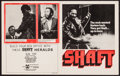 "Movie Posters:Blaxploitation, Shaft & Others Lot (MGM, 1971). Herald (4 Pages, 8.75"" X 11"")& One Sheets (7) (27"" X 41""). Blaxploitation.. ... (Total: 8Items)"