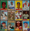 Baseball Cards:Lots, 1950's-1970's Baseball Superstars and HoFers Collection (12). ...
