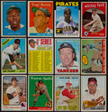 Baseball Cards:Lots, 1950's-1980's Baseball Superstars and HoFers Collection (12). ...