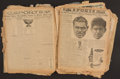 Boxing Collectibles:Memorabilia, Early to Mid 1900's Boxing Scrapbook....