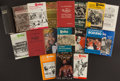 Boxing Collectibles:Memorabilia, 1947-85 Boxing Hardcover The Ring Encyclopedia and More Lot of 18....