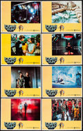 "Movie Posters:Science Fiction, Logan's Run (MGM, 1976). Lobby Card Set of 8 (11"" X 14""). ScienceFiction.. ... (Total: 8 Items)"