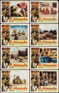 "Movie Posters:War, El Alamein and Other Lot (Columbia, 1953). Lobby Card Set of 8 andLobby Card Set of 4 (11"" X 14""). War.. ... (Total: 12 Items)"