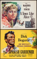 """Movie Posters:War, A Town Like Alice and Other Lot (Rank, 1958). British Half Sheets(2) (22"""" X 28""""). War.. ... (Total: 2 Items)"""