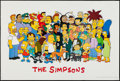 """Movie Posters:Animation, The Simpsons (20th Century Fox, 1990s). Television Posters (4) (27"""" X 40""""). Animation.. ... (Total: 4 Items)"""