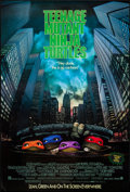 "Movie Posters:Action, Teenage Mutant Ninja Turtles (New Line, 1990). One Sheet (27"" X40"") SS Advance. Action.. ..."