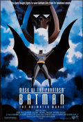 "Movie Posters:Animation, Batman: Mask of the Phantasm and Other Lot (Warner Brothers, 1993). One Sheets (2) (27"" X 40"" and 27"" X 40.5"") DS & SS. Anim... (Total: 2 Items)"