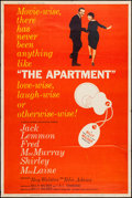 """Movie Posters:Comedy, The Apartment (United Artists, 1960). Poster (40"""" X 60""""). Comedy.. ..."""