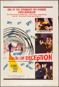 "Movie Posters:War, Circle of Deception (20th Century Fox, 1960). Posters (2) (40"" X60"") Styles Y & Z. War.. ... (Total: 2 Items)"