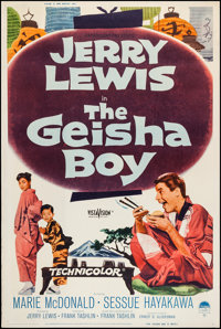 """The Geisha Boy (Paramount, 1958). Posters (2) (40"""" X 60"""") Styles Y & Z. Comedy. ... (Total: 2 Items)"""