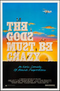 """Movie Posters:Comedy, The Gods Must Be Crazy (20th Century Fox, 1980). One Sheet (27"""" X 41""""). Comedy.. ..."""