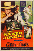 "Movie Posters:Adventure, The Naked Jungle (Paramount, 1954). Poster (40"" X 60"") Style Z.Adventure.. ..."