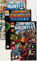 Modern Age (1980-Present):Superhero, The Infinity Gauntlet/Warlock-Related Group (Marvel, 1978-93)Condition: Average NM-.... (Total: 47 Comic Books)