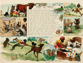 """Books:Prints & Leaves, Richard F. Outcault. Comic, """"Poor Lil' Mose , He Spends a Week onthe Farm."""" New York Herald, 1901. Measures about 13.25"""" x ..."""