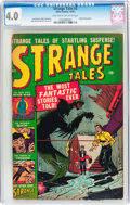 Golden Age (1938-1955):Horror, Strange Tales #3 (Atlas, 1951) CGC VG 4.0 Light tan to off-whitepages....