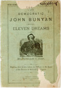 Books:Americana & American History, [David Ross Locke]. The Democratic John Bunyan. Being ElevenDreams by Rev. Petroleum V. Nasby. Toledo: Toledo Blade...