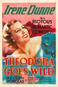 "Movie Posters:Comedy, Theodora Goes Wild (Columbia, 1936). One Sheet (27.5"" X 41"").. ..."