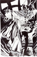 Original Comic Art:Sketches, Michael Golden - Doctor Strange Commission Original Art (Marvel, c. 2013)....