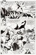 Original Comic Art:Panel Pages, Steve Rude Incredible Hulk vs. Superman Page 3 Original Art (Marvel/DC, 1999)....