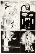 Original Comic Art:Panel Pages, Mike Mignola and Al Williamson Fafhrd and the Gray Mouser #3 Page 5 Original Art (Marvel, 1991)....