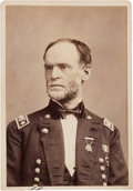 Autographs:Military Figures, William T. Sherman Photograph Signed....
