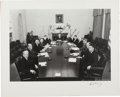Autographs:U.S. Presidents, John F. Kennedy and His Original Cabinet Photograph Signed....