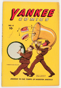 Yankee Comics #4 (digest size) (Chesler, 1942) Condition: VF