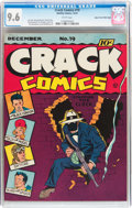 Golden Age (1938-1955):Superhero, Crack Comics #19 Mile High pedigree (Quality, 1941) CGC NM+ 9.6 White pages....