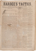 Miscellaneous:Newspaper, Newspaper: Hardee's Tactics: Military Supplement to thePhiladelphia Inquirer....