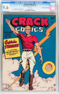Golden Age (1938-1955):Superhero, Crack Comics #34 Mile High pedigree (Quality, 1944) CGC NM+ 9.6 White pages....