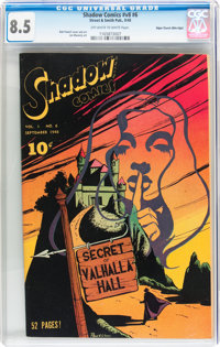 Shadow Comics V8#6 Mile High pedigree (Street & Smith, 1948) CGC VF+ 8.5 Off-white to white pages