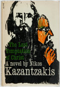 Books:Literature 1900-up, Nikos Kazantzakis. The Last Temptation of Christ. New York;Simon and Schuster, 1960. First American edition, first ...
