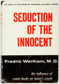 Books:Social Sciences, Fredric Wertham, M. D.. Seduction of the Innocent. New York:Rinehart, [1954]. Publisher's original quarter cloth bi...