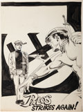 Original Comic Art:Splash Pages, Nestor Redondo Palos Splash Page Original Art (undated)....