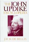 Books:Reference & Bibliography, [John Updike]. SIGNED. Jack de Bellis. The John UpdikeEncyclopedia. Greenwood, 2000. First edition. Signed by Upd...