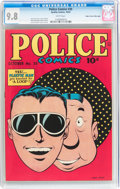 Golden Age (1938-1955):Superhero, Police Comics #35 Mile High pedigree (Quality, 1944) CGC NM/MT 9.8 White pages....