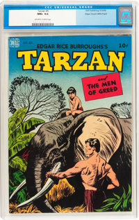 Tarzan #5 Mile High pedigree (Dell, 1948) CGC NM+ 9.6 Off-white to white pages
