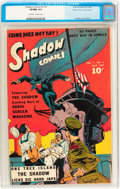 Shadow Comics V7#4 Mile High pedigree (Street & Smith, 1947) CGC VF/NM 9.0 Off-white to white pages