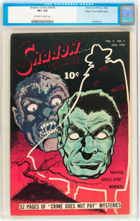 Shadow Comics V8#5 Mile High pedigree (Street & Smith, 1948) CGC VF+ 8.5 Off-white to white pages