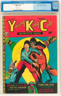 Young King Cole V3#7 Mile High pedigree (Novelty Press, 1948) CGC NM+ 9.6 White pages