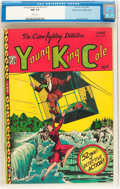Golden Age (1938-1955):Crime, Young King Cole V3#11 Mile High pedigree (Novelty Press, 1948) CGC NM 9.4 White pages....