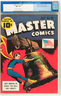 Golden Age (1938-1955):Superhero, Master Comics #28 Mile High pedigree (Fawcett Publications, 1942) CGC NM- 9.2 Off-white to white pages....