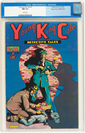 Golden Age (1938-1955):Crime, Young King Cole V1#1 Mile High pedigree (Novelty Press, 1945) CGC NM 9.4 White pages....