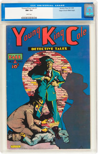Young King Cole V1#1 Mile High pedigree (Novelty Press, 1945) CGC NM 9.4 White pages