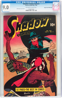 Shadow Comics V8#11 Mile High pedigree (Street & Smith, 1949) CGC VF/NM 9.0 Off-white to white pages