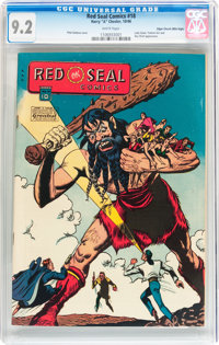 Red Seal Comics #18 Mile High pedigree (Chesler, 1946) CGC NM- 9.2 White pages