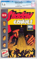 Golden Age (1938-1955):Crime, Shadow Comics #3 Mile High pedigree (Street & Smith, 1940) CGC NM+ 9.6 White pages....